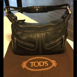 Tods JP Leather Satchel Bag